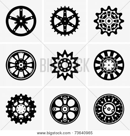 Sprocket wheels