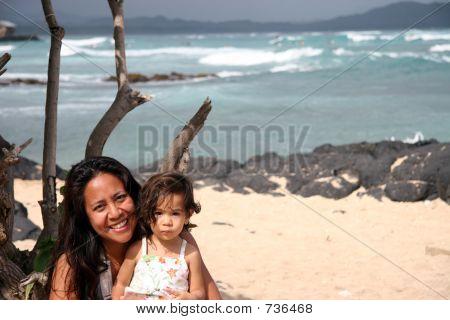 Mom Daughter Oahu