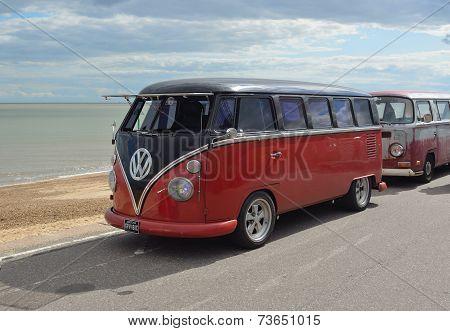 A Classic VW Camper Van