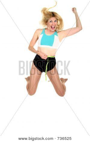 Jumping for Joy at Weight Loss Forward