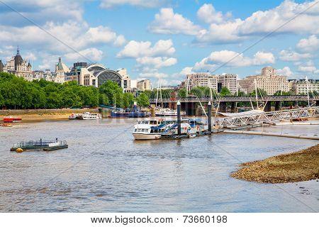 River Thames. London, England