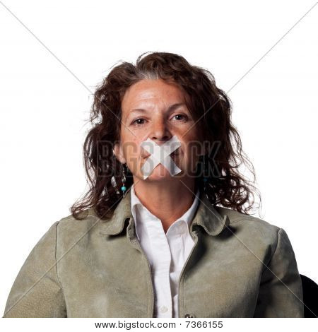 Silenced Woman