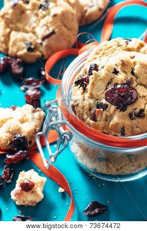 Sweet Dry Cranberry Cookies