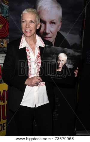 LOS ANGELES - OCT 10:  Annie Lennox at the In-store appearance to sign
