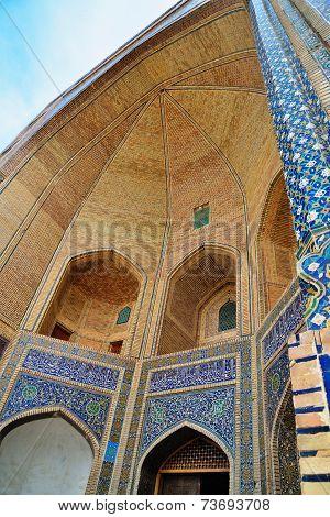 Miri Arab madrasah in Bukhara