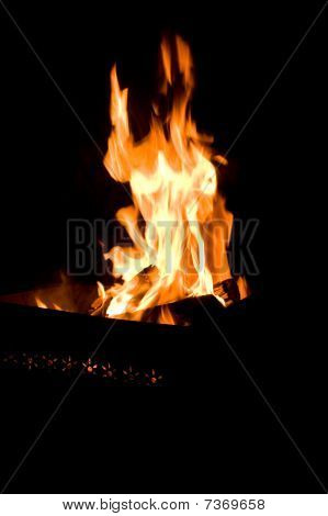 Fire In Brazier