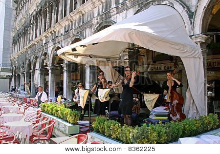 Musicians in Piazza San Marco