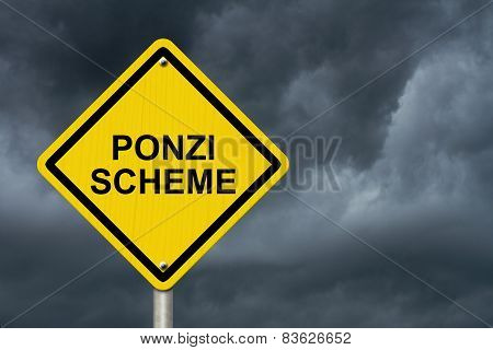 Ponzi Scheme Warning Sign