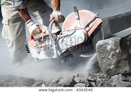 Cut-off Saw Work