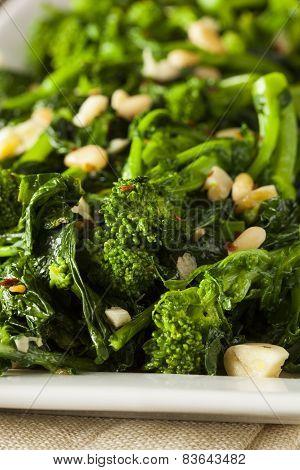 Homemade Sauteed Green Broccoli Rabe