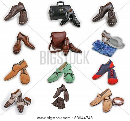 Male shoes collection