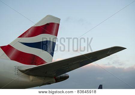 British Airways tailfin
