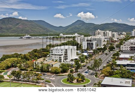 Aerial View Cairns Qld