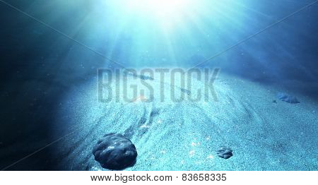 Underwater Sea Floor