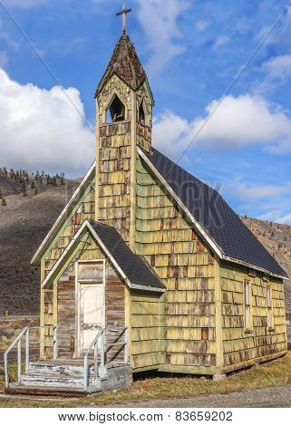 Old Country Church in Spences Bridge