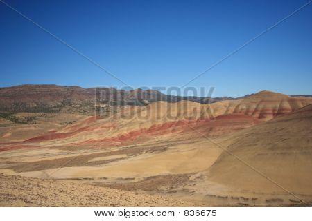 Painted Hills Desert