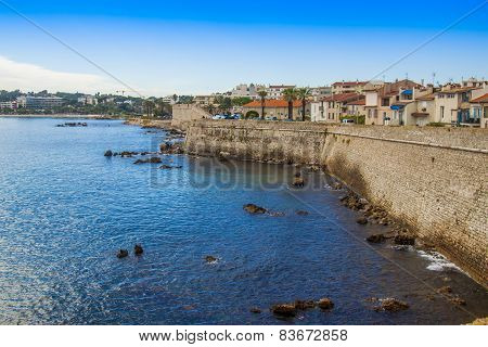 Antibes, France, on October 15, 2012. A typical urban view in French riviera