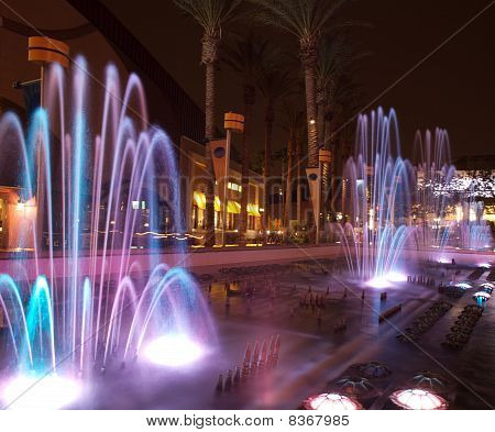 Glowing Fountains