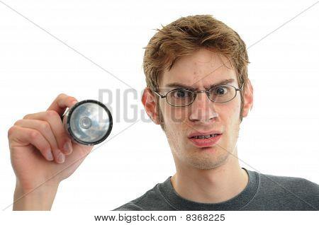 Confused Repair Man