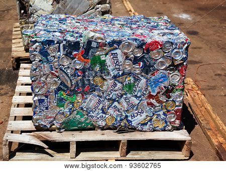 Recycle Can Cube