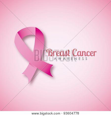 breast cancer design, vector illustration eps10 graphic poster