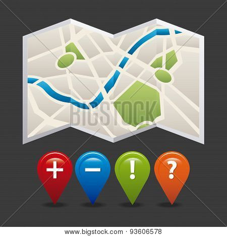 gps icon design