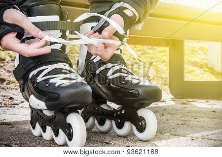 Dressing Roller Skates For Skating