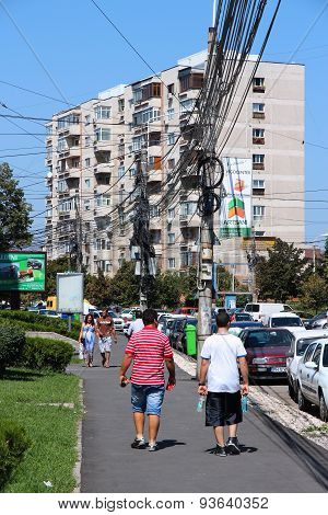 Tangled Cables In Romania