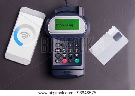 wifi against paying with smartphone