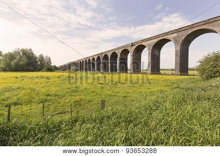 Harringworth Railway Viaduct.
