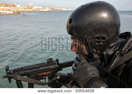 Agent Of Special Department Emergency Anti-terrorism