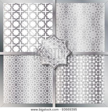 Seamless Islamic Patterns Set