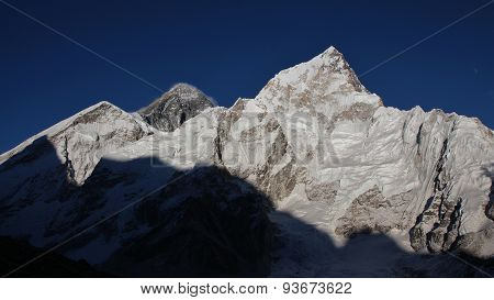 Mt Everest And Nuptse