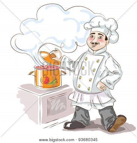 Cheerful Chef