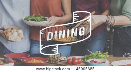 Dining Food Eating Party Celebration Concept