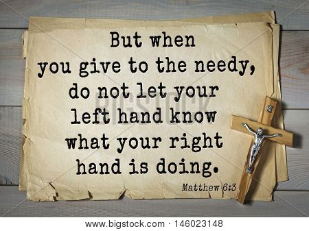 Bible verses from Matthew