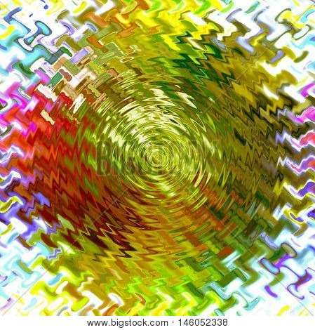 Abstract background of the abstract gradient with cubism,light effect,wave,distortion effect and zigzag effect