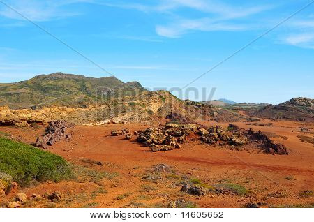 Es Pla Vermell In Menorca, Balearic Islands, Spain