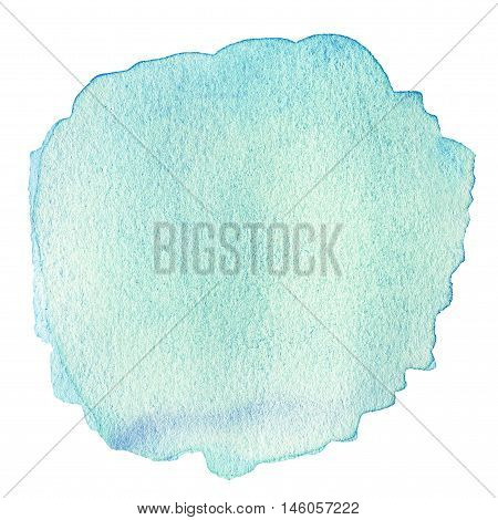 Abstract watercolor background for your design. Wet watercolour art hand paint on white background textured backdrop watercolor drop wave