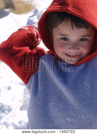 Thowing Snow Balls