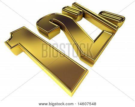 Gold 12 Percent