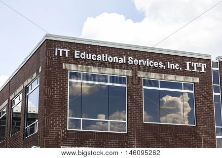 Carmel IN - Circa September 2016: ITT Educational Services Headquarters. ITT Technical Institute has decided to close all its campuses in the wake of devastating federal sanctions I