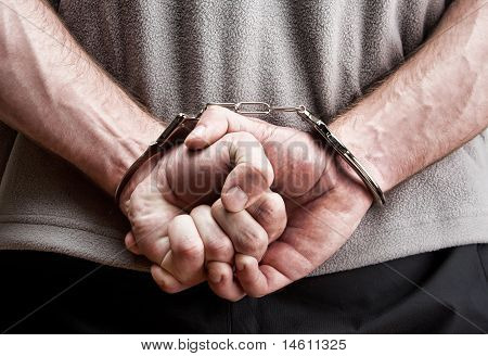Criminal In Handcuffs