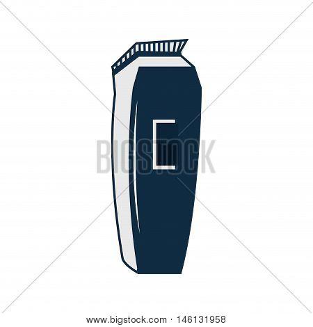 barber trimmer. barbershop professional equipment. silhouette  vector illustration