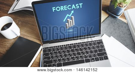 Forecast Future Planning Predict Strategy Trends Concept