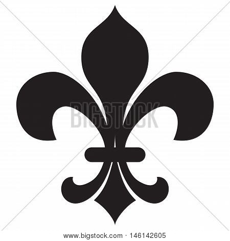 Fleur de lis clip art flower de design element