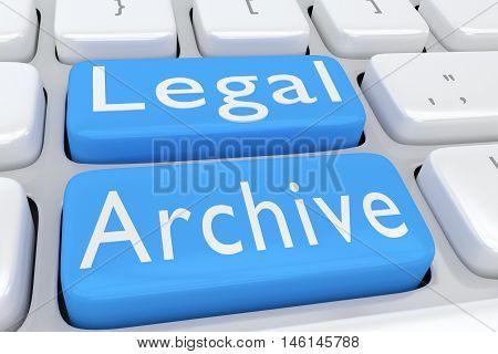 Legal Archive Concept