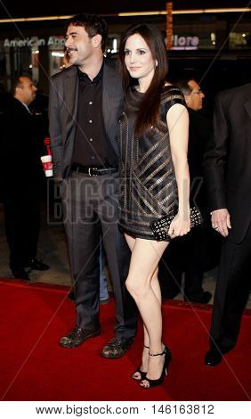 Jeffrey Dean Morgan and Mary-Louise Parker at the World premiere of 'P.S. I Love You' held at the Grauman's Chinese Theater in Hollywood, USA on December 9, 2007.
