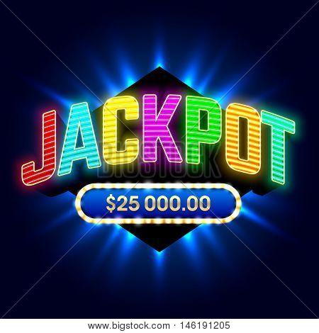 Jackpot banner
