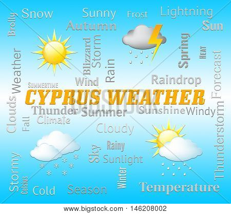 Cyprus Weather Represents Cypriot Outlook And Forecast
